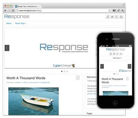 response-tema-wordpress
