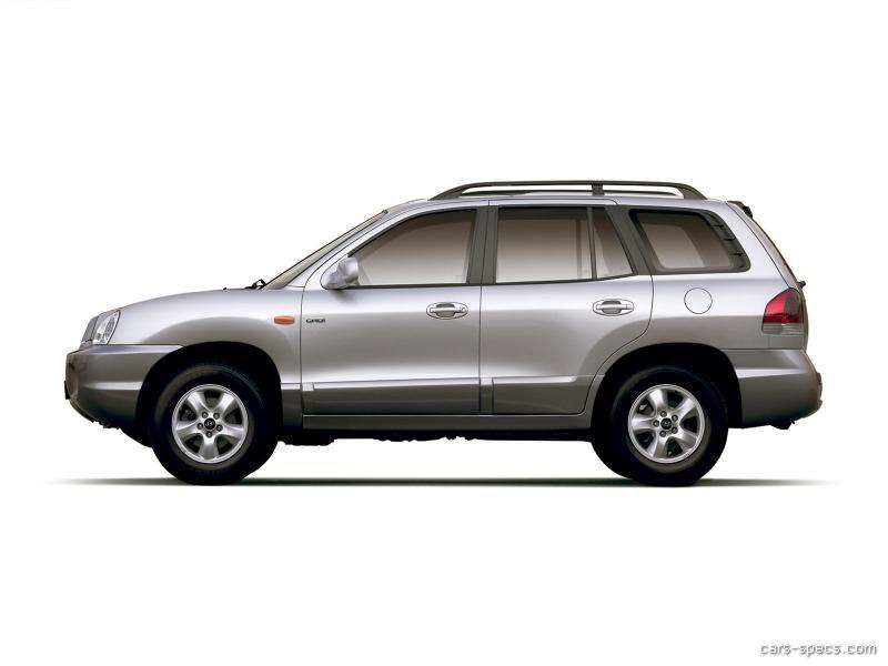 2003 hyundai santa fe suv specifications pictures prices. Black Bedroom Furniture Sets. Home Design Ideas