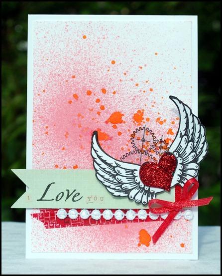 Love you splatter  1