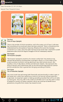 Screenshot of Beginner's Guide to Tarot