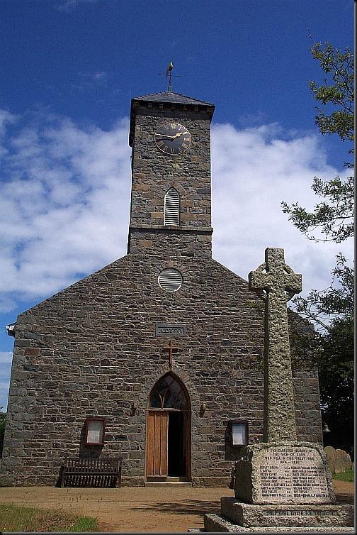 kościół św. piotra w sarku