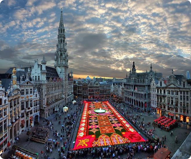 Самый-большой-ковёр-из-цветов.-Бельгия