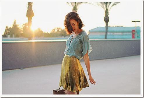 inventand-moda-saia-plissada-gold
