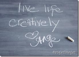 Chalkboard | Live life creatively | personallyandrea.com