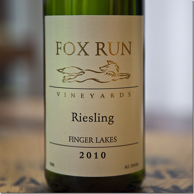 2010 Fox Run Vineyards Finger Lakes Riesling-1