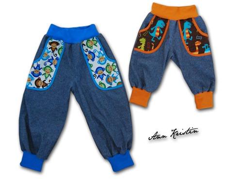Ape og dino bukser