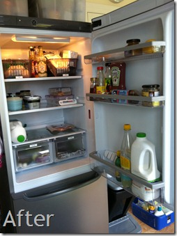 Fridge After Photo
