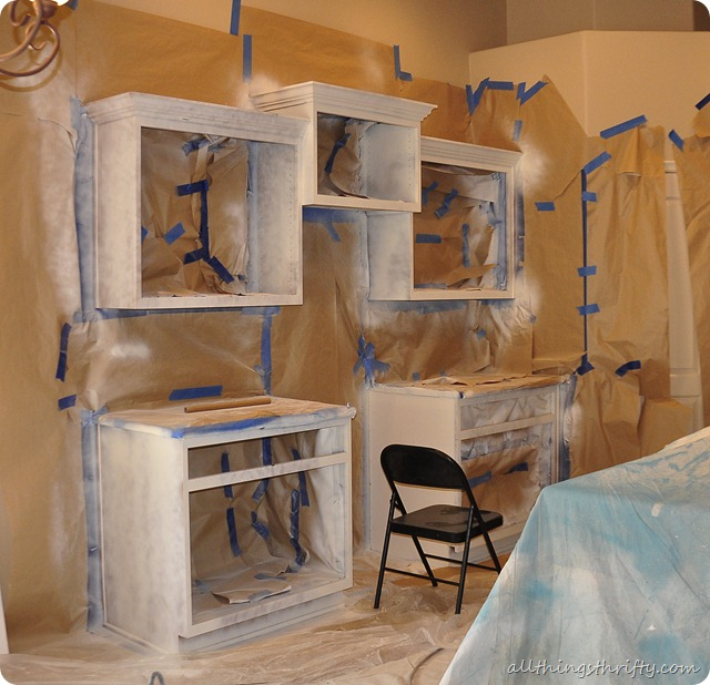 Are Painted Kitchen Cabinets Durable: Prepping To Spray Cabinet Bodies