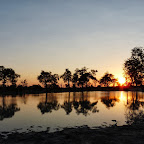 Vumbura Camp, Sonnenuntergang über den Vumbura Plains © Foto: Ulrike Pârvu   Outback Africa Erlebnisreisen