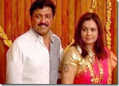 KB Ganesh Kumar _Bindu Menon_wedding_pics