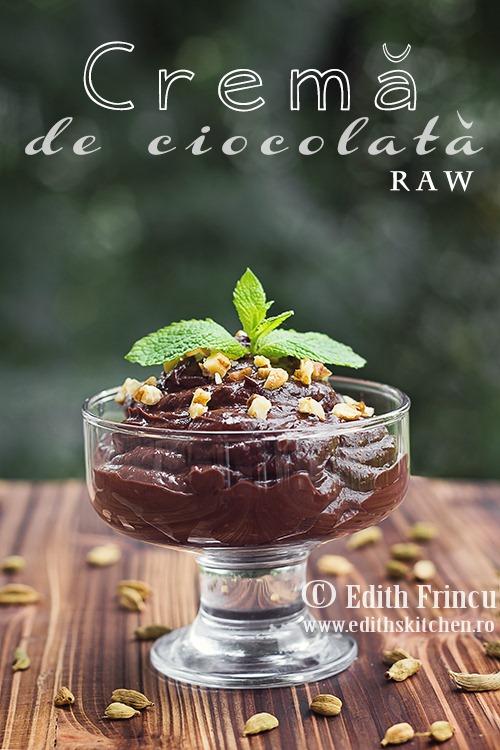 Crema de ciocolata raw