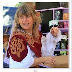Elfa en la feria medieval de Porrúa