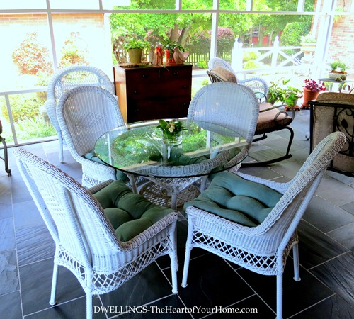 Pier One Wicker Table & Chairs