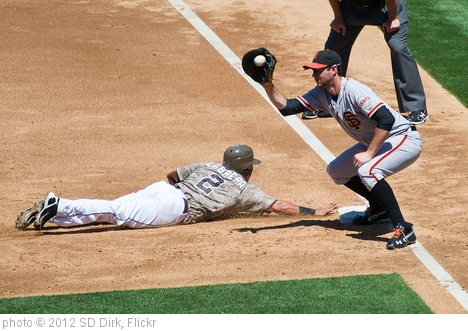 'Everth Cabrera dives back' photo (c) 2012, SD Dirk - license: http://creativecommons.org/licenses/by/2.0/