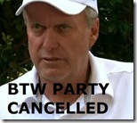 wayne grady party cancelled