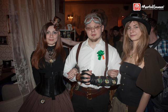 Отчет с вечеринки Steampunk 3.0