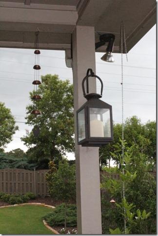 lantern outside
