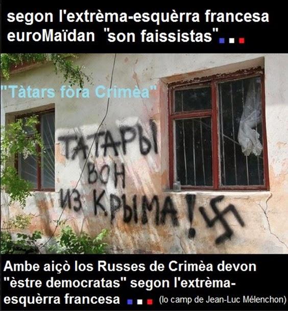 Crimèa eslògans russes