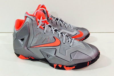 nike lebron 11 gs wolf grey camo 1 02 Kids Nike LeBron XI GS in Elite Team Collection Colorway