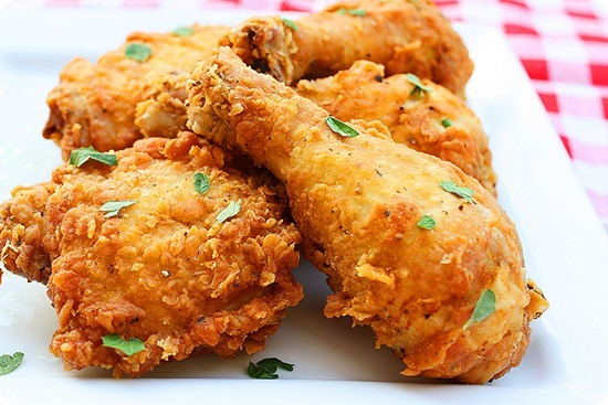 Spicy Southern Fried Chicken – Crispy, tender, melt-in-your-mouth fried chicken with a slight spicy kick! | thecomfortofcooking.com