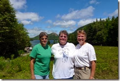 Triple Chicks at Jordan Pond