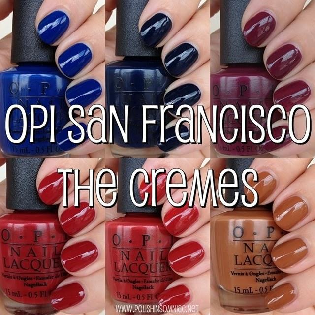 OPI San Francisco - The Cremes
