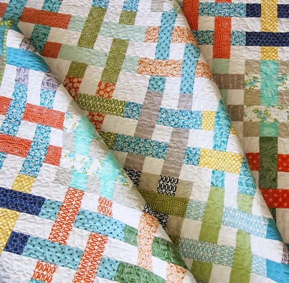 Basket Case quilting