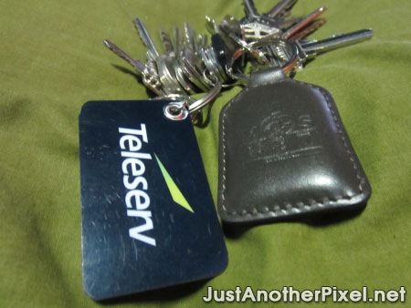 The newest promo key chains I got - JustAnotherPixel.net
