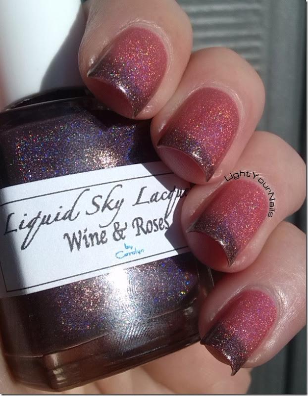 Liquid Sky Lacquer Wine & Roses