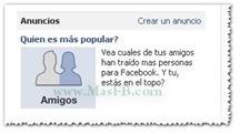 Quien es más popular en Facebook ?