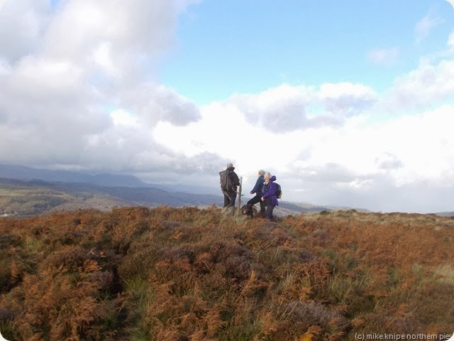 a top (?) coniston fells behind