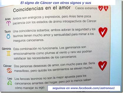 Cancer amor 1