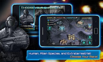 Screenshot of Galaxy War - The New Colony