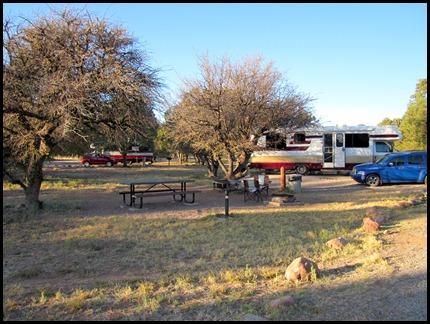 Mesa Campground, Lak Roberts, NM