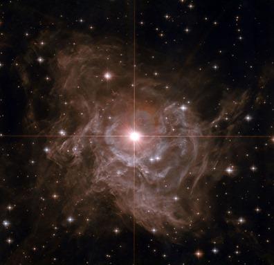 a estrela cefeida RS Puppis