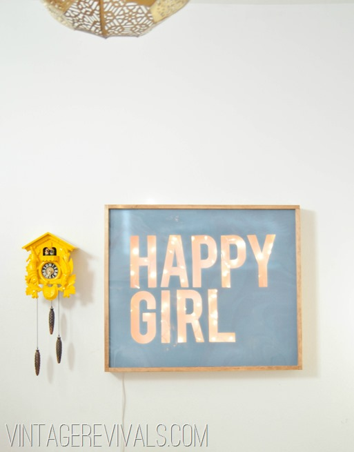 Happy Girl Sign-6