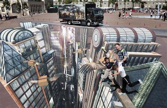Maior mural em 3D 04