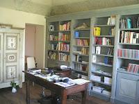 riproduzione di libreria antica - Carlo x