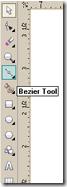Bezier tool corel draw