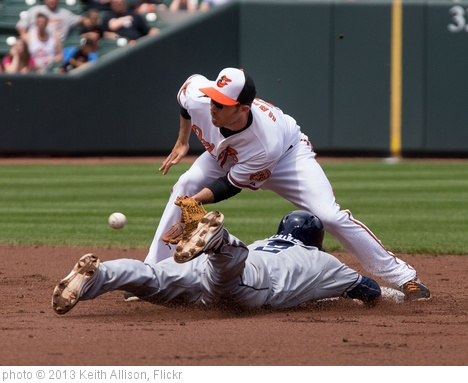 'Everth Cabrera, J.J. Hardy' photo (c) 2013, Keith Allison - license: http://creativecommons.org/licenses/by-sa/2.0/