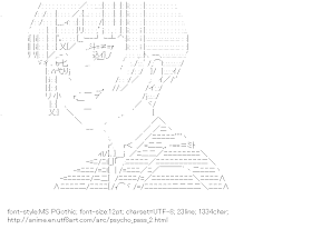 [AA]Tsunemori Akane (Psycho-Pass)
