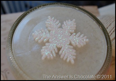 Snowman Spool Jar Top