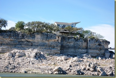 Lake Travis - where have the Water gone