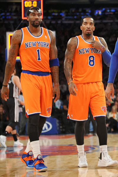 wearing brons nba soldier7 amare knicks 14 Wearing Brons: Amare Stoudemire in SOLDIER 7 Knicks PE (x3)