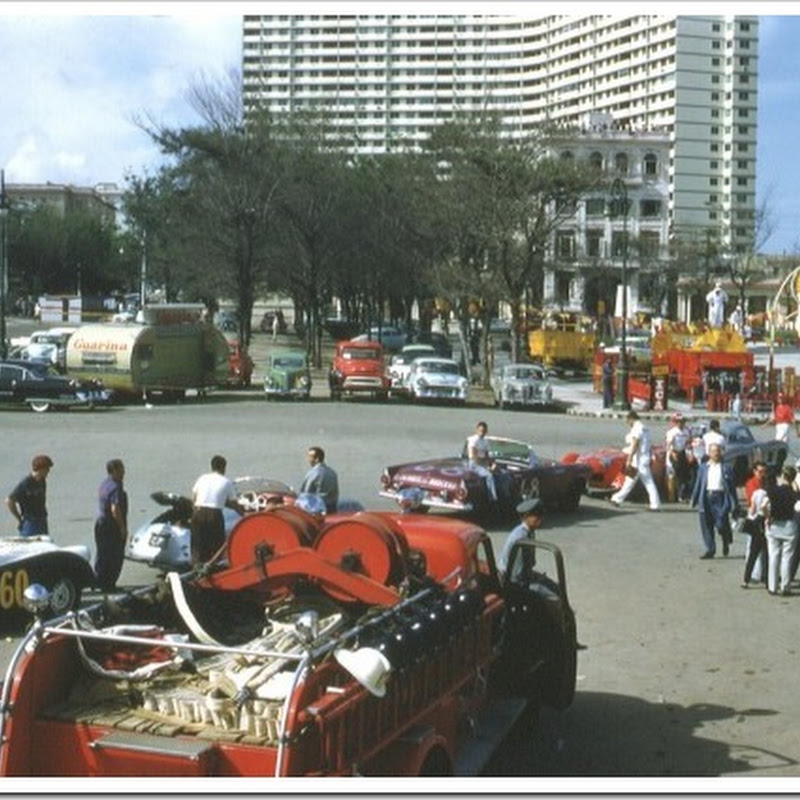 10 fotografias do Grande Prêmio de Havana de 1958