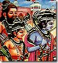 Rama, Lakshmana and Vishvamitra