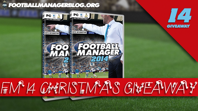 Football Manager 2014 Giveaway