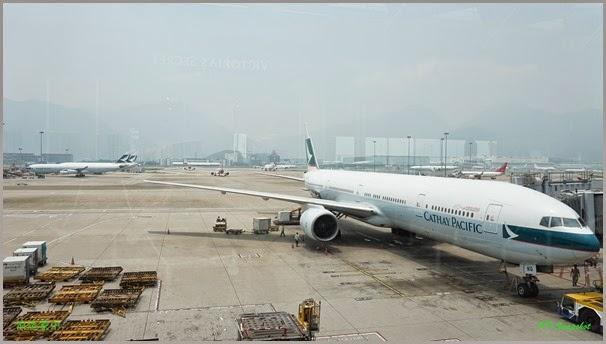 香港机场转机