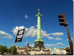 La Bastille, le 1er Mai 2012