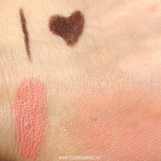butter LONDON Cheeky Blush in Apple Pie swatch